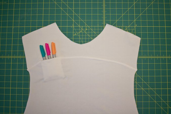 Inseam Chest Pocket Tutorial from Hey June Handmade