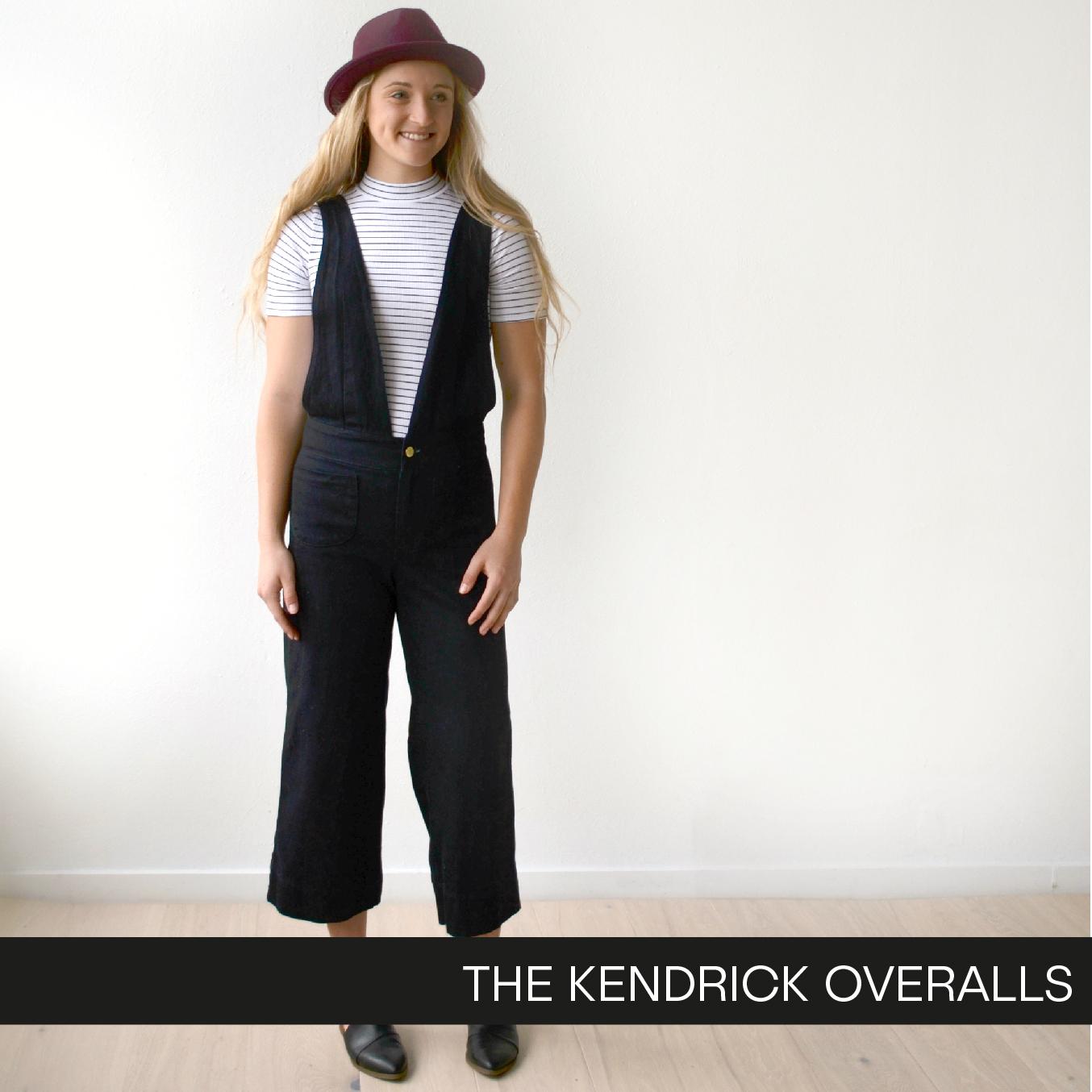 The Kendrick Overalls by Hey June Handmade