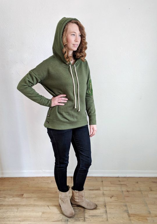 Brunswick Pullover by Hey June Handmade