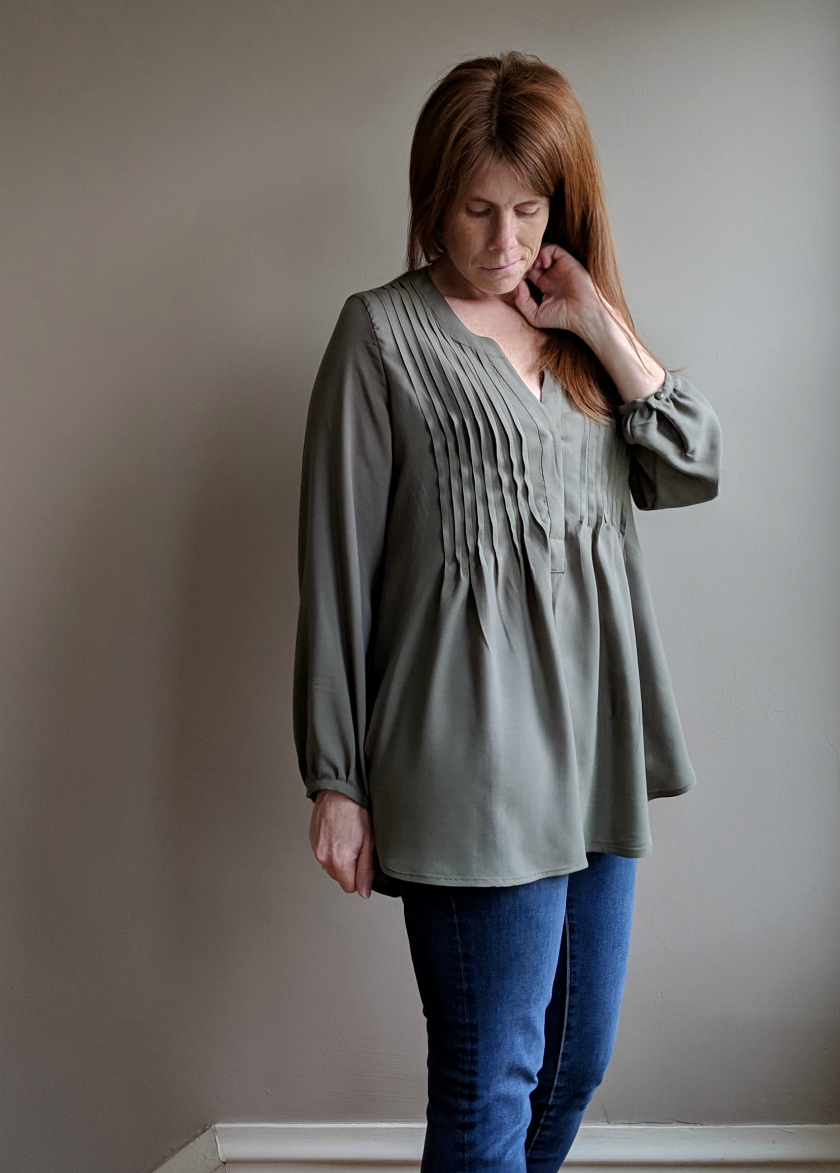 Pleated Cheyenne Tutorial from Hey June Handmade