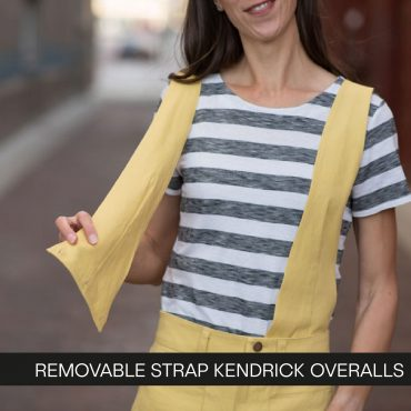 Removable Strap Kendrick Overall Tutorial