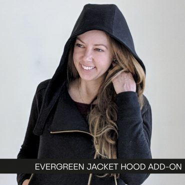 Evergreen Jacket Hood