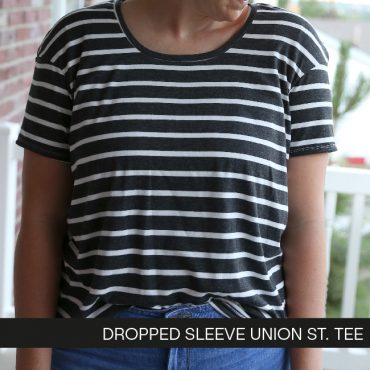 Dropped Sleeve Union St. Tee
