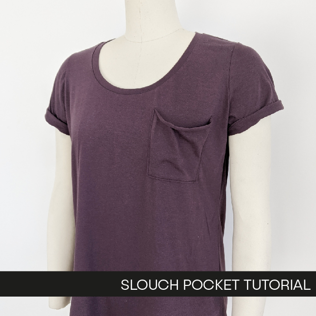 Hey June Slouch Pocket Tutorial