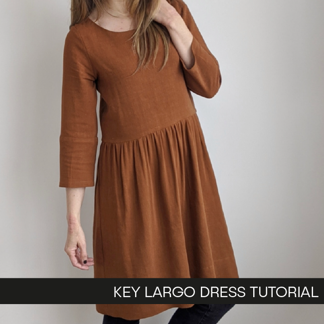 Key Largo Dress by Hey June Handmade