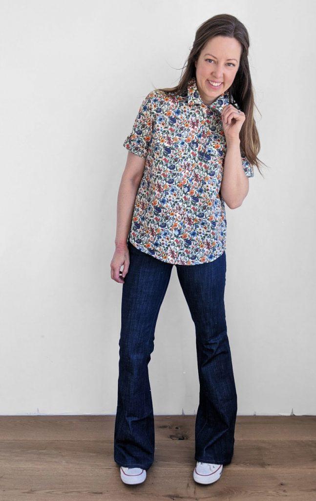 The Amherst Shirt by Hey June Handmade