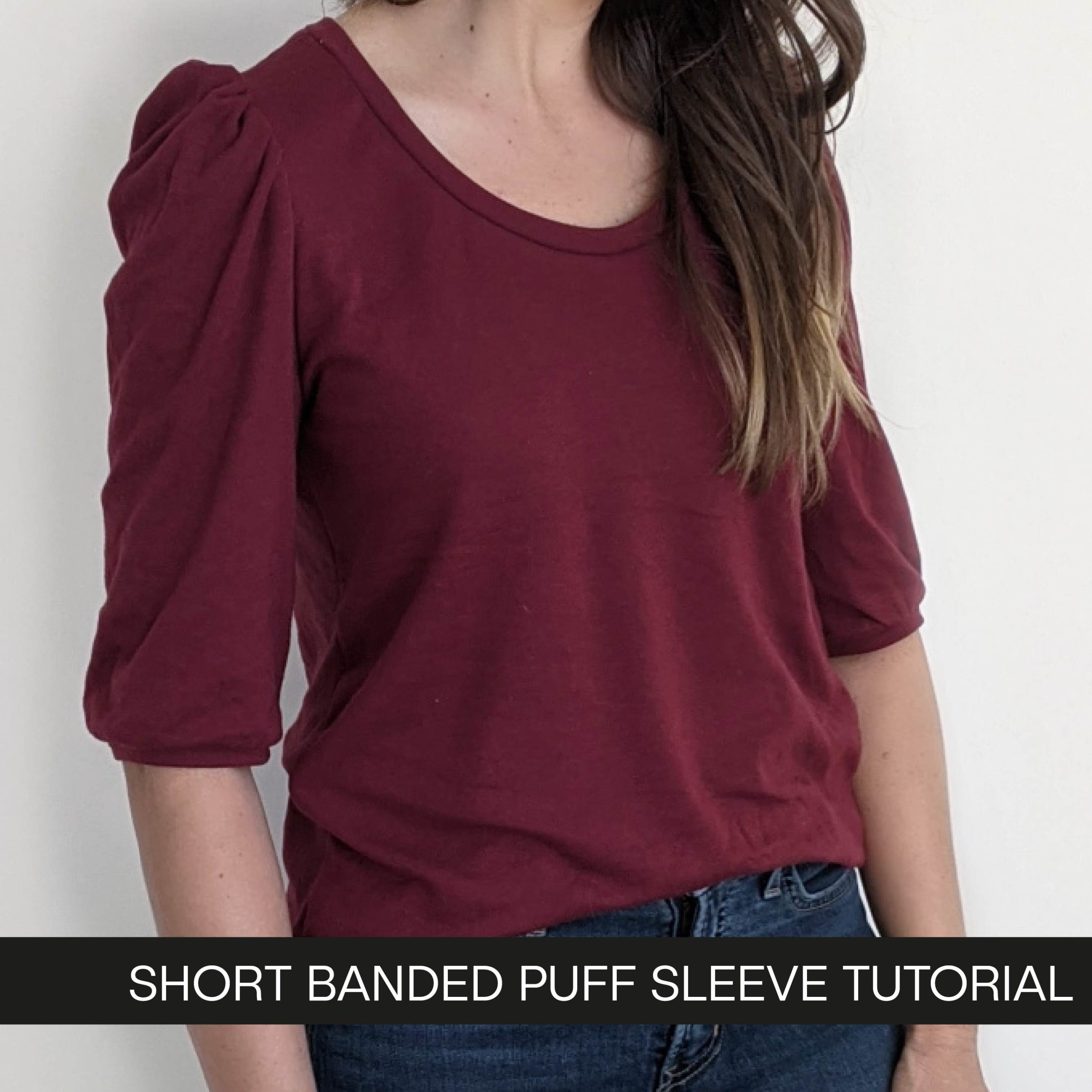 Banded Puff Sleeve Tutorial